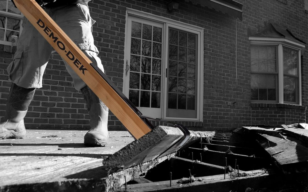 5 Reasons Why Demo-Dek is Vital for Residential Deck Construction